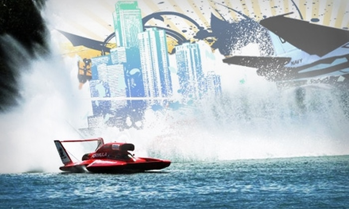 2011 Detroit APBA Gold Cup - Belle Isle: Tickets to the Detroit APBA Gold Cup on July 8–10. Two Options Available.