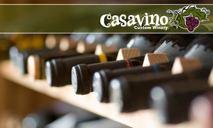 Casavino Custom Winery - Fountain Hills: $115 for a Wine-Bottling Experience for up to Four People at Casavino Winery ($225 value)