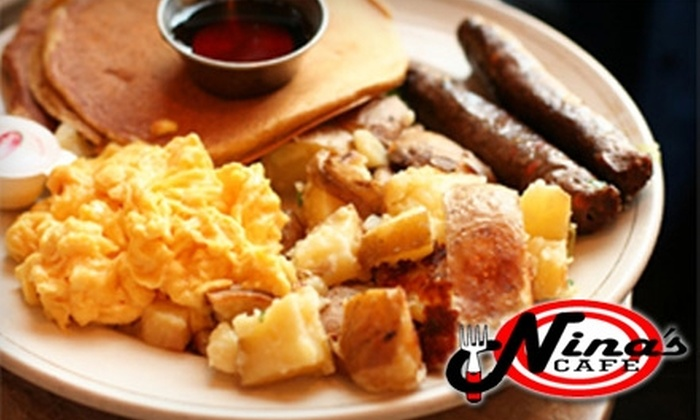 Nina's Café - West Douglas: $10 for $20 Worth of Breakfast or Lunch Fare at Nina's Café
