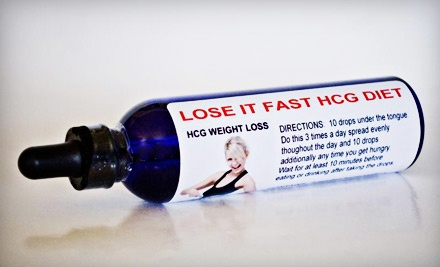 One 4-Ounce Bottle of HCG Drops (a $300 value) - HCG Slim Down Diet in