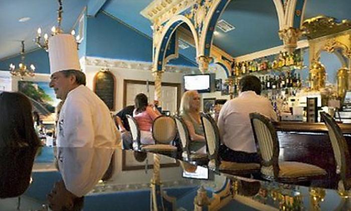 Capri Blu Bar - Metairie: Capri Blu New OrleansCocktail Package for Two or Italian Cuisine and Drinks at Capri Blu Bar in Metairie