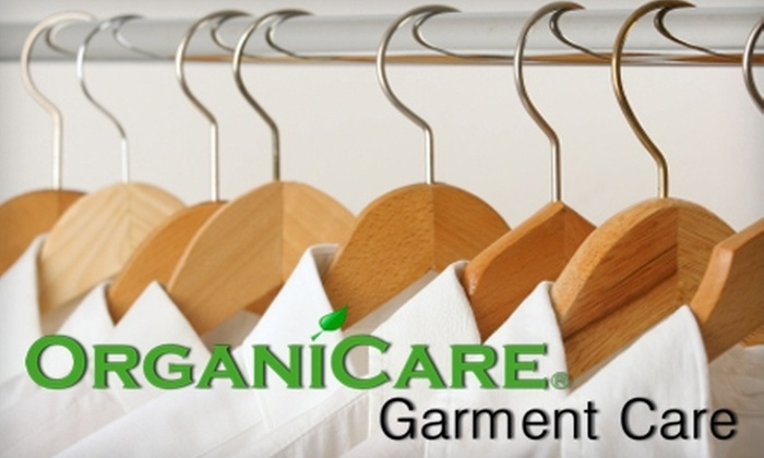 Organic Dry Cleaners - Multiple Locations: $20 for $40 Worth of Dry Cleaning at Organic Dry Cleaners