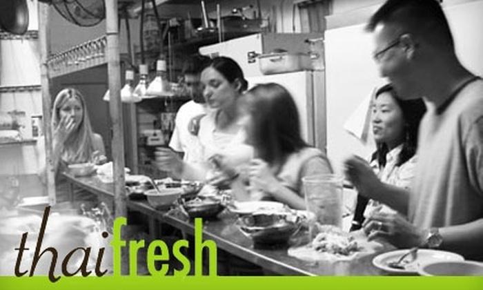 Thai Fresh - Bouldin: $65 for a Thai Cooking Class For Two at Thai Fresh ($130 Value)
