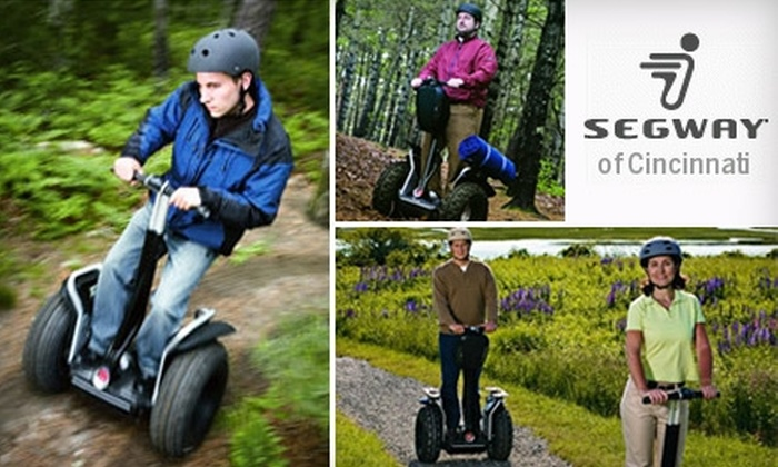 Segway of Cincinnati - Multiple Locations: $30 for a 90-Minute Segway Tour from Segway of Cincinnati ($60 Value)