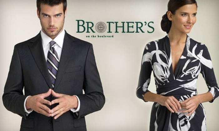 Brother's on the Boulevard - Lafayette: $20 for $50 Worth of Men's and Women's Apparel at Brother's on the Boulevard in Lafayette