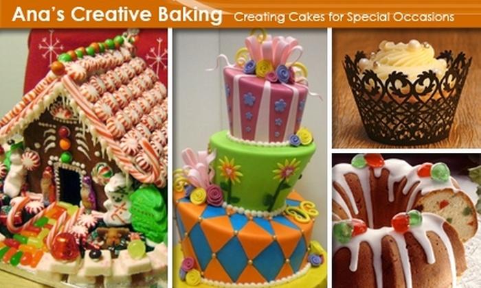 Ana's Creative Baking - Downtown San Jose: $20 for $45 Worth of Handmade Desserts from Ana's Creative Baking
