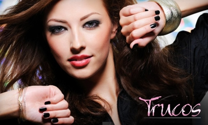 Trucos Gel Enhancements and Designs - Nutana: $40 for a Citrus Spa Manicure and Marine Spa Pedicure at Trucos Gel Enhancements and Designs