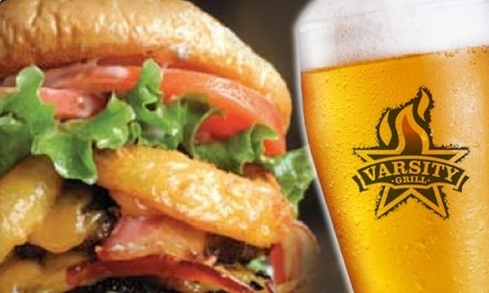 Varsity Grill - New Tacoma: $15 for $30 Worth of Casual American Cuisine at Varsity Grill