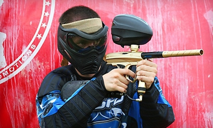 Insane Paintball - Riverside Area Community Club: $15 for Field Admission, Equipment Rental, and 200 Paintballs at Insane Paintball ($30.05 Value)