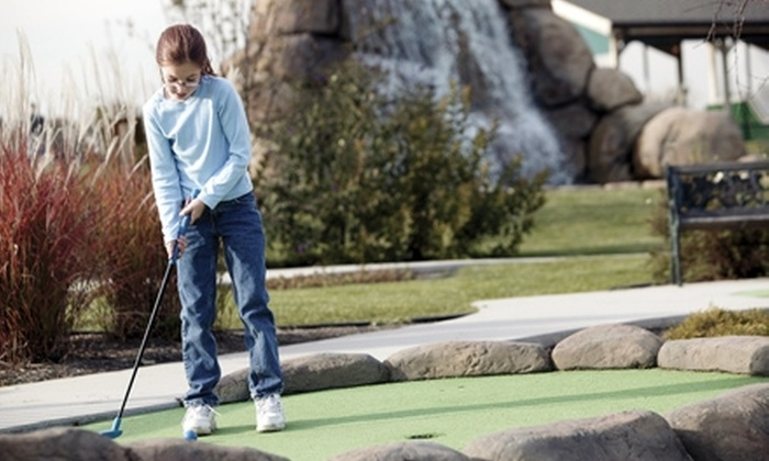 River View Miniature Golf Course - St. Charles: $5 for 18 Holes of Miniature Golf for Two at River View Miniature Golf Course in St. Charles (Up to $11 Value)