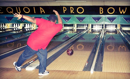Bowling Package for up to 4 People on Sunday-Thursday (a $68 value) - Sequoia Pro Bowl in Columbus