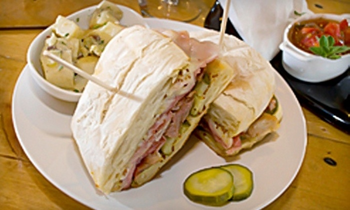 The Deli - Phoenix: $10 for $20 Worth of Locally Sourced Fare at The Deli in Queen Creek