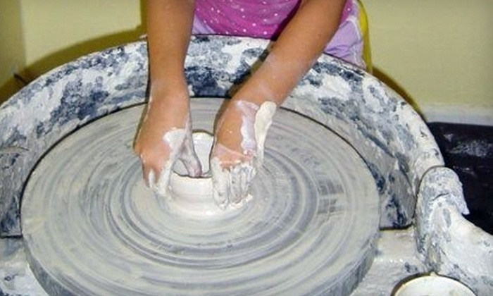 Super Awesome Cool Pottery - Pine Castle: $6 for the Potter's Wheel Experience at Super Awesome Cool Pottery ($15 Value)