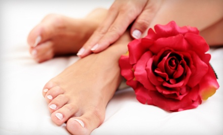Diva Nails By Aly: 60-Minute Mani-Pedi Package - Diva Nails by Aly in San Antonio