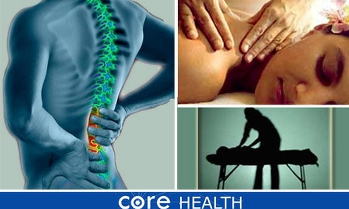 CoreHealth of Clearwater LLC - Citrus Park-Fern Lake: $40 for Chiropractic Wellness Exam from Core Health of Clearwater ($265 Value)