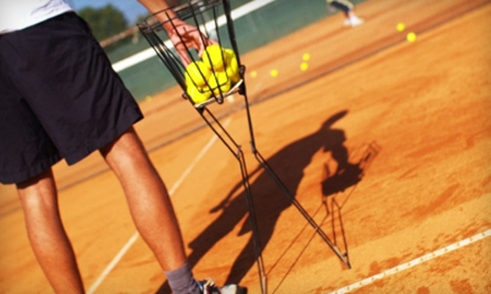 Mark Platt's Beginner's World Tennis - Saint Louis: $20 for Four Group Tennis Lessons at Mark Platt's Beginner's World Tennis in Creve Coeur (Up to $56 Value)