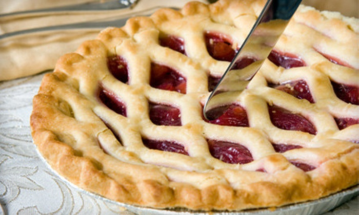 Chef and a Baker: $25 for $50 Worth of Baked-to-Order Pies, Cheesecakes, and Desserts from Chef and a Baker