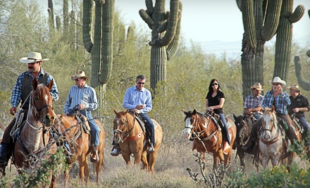 2-Hour Horseback Trail Ride for 1 - MacDonald's Ranch in Scottsdale