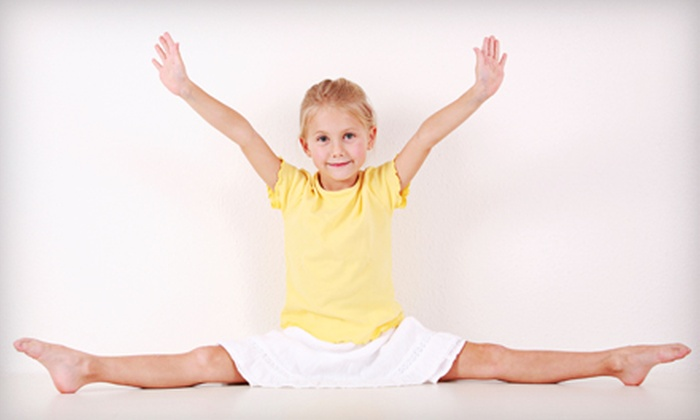 Academy West - West Jordan: $25 for a Four-Class Sampler of Gymnastics, Dance, Tumbling, and Cheer at Academy West in West Jordan (Up to $100 Value)