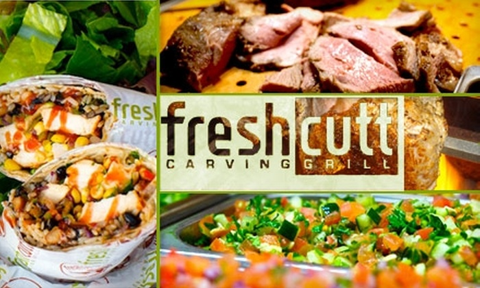 Fresh Cutt Carving Grill - Sherman Oaks: $10 for $25 Worth of Healthy, Mediterranean Cuisine and Drinks at Fresh Cutt Carving Grill