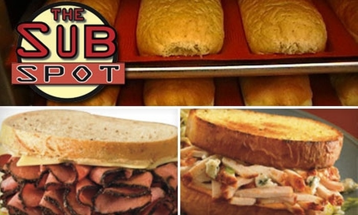 The Sub Spot - Greensboro: $5 for $10 Worth of Fresh-Made Sandwiches, Salads, Wings, and More at The Sub Spot