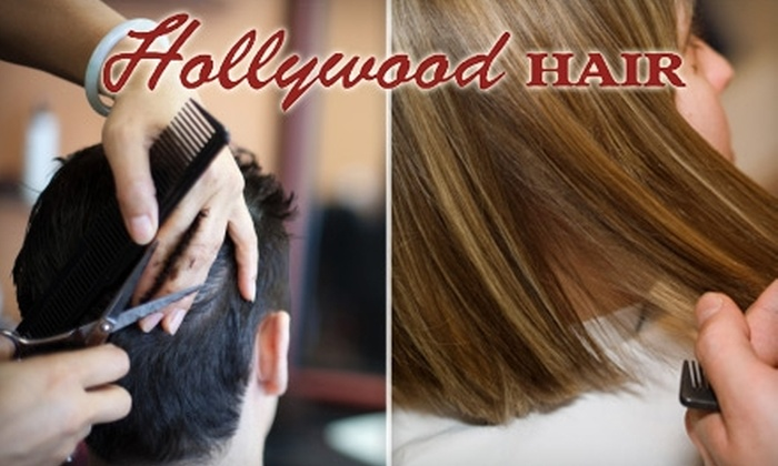 Hollywood Hair - Downtown: Men's or Women's Haircut at Hollywood Hair. Choose Between Two Options.