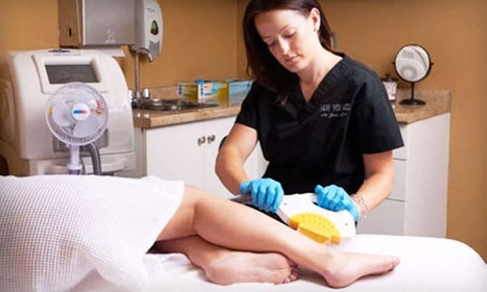 New You Medical Group - La Jolla: $99 for Six Laser Hair-Removal Treatments at New You Medical Group in La Jolla (Up to $900 Value)
