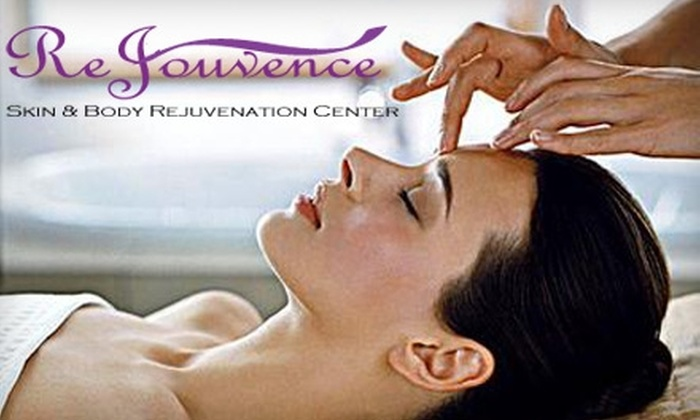 ReJouvence Skin & Body Rejuvenation Center - Downtown: $49 for a One-Hour Integrative Massage or Clarifying Facial at ReJouvence Skin & Body Rejuvenation Center in Burlingame ($105 Value)