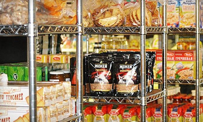 Taste of Europe - Deer Creek: $10 for $20 Worth of European Groceries, Pastries, and Deli Fare at Taste of Europe in Overland Park