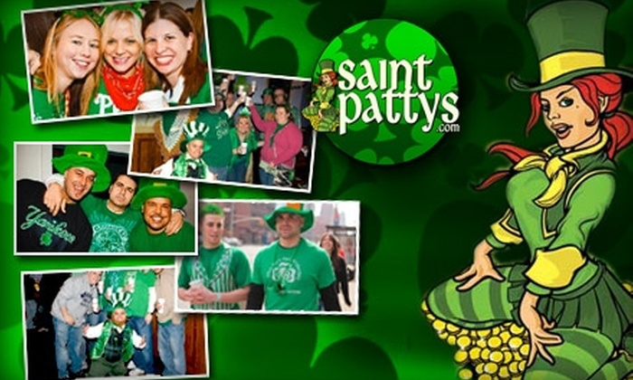 Saintpattys.com - Gramercy Park: $15 for a Three-Day Pass to St. Patty's Pub Crawl ($40 Value)