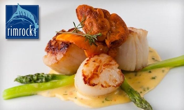Rimrock Cafe - Whistler: $25 for $50 Worth of A La Carte Fine Dining and Drinks at Rimrock Café in Whistler