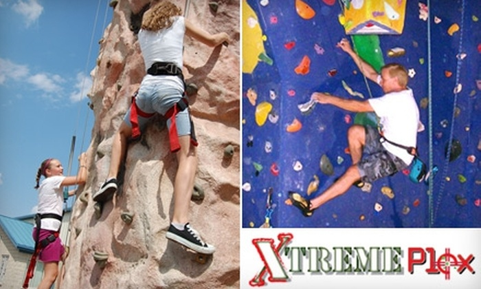 Xtreme Plex - Steger: $9 for a One-Day Climbing Pass at Xtreme Plex's The Vertical Challenge in Monee ($19 Value)