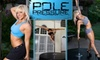 Pole Pressure (DC) - Multiple Locations: $50 for Five Pole-Dancing Classes at Pole Pressure ($100 Value)
