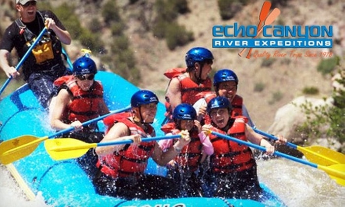 Echo Canyon River Expeditions - Cotopaxi: $30 for a Half-Day Rafting Trip through Bighorn Sheep Canyon from Echo Canyon River Expeditions (Up to $64 Value)