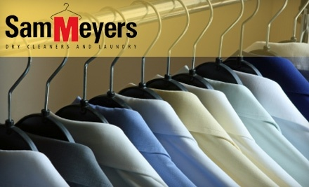 $40 Groupon to Sam Meyers Dry Cleaning and Laundry - Sam Meyers Dry Cleaning and Laundry in Louisville