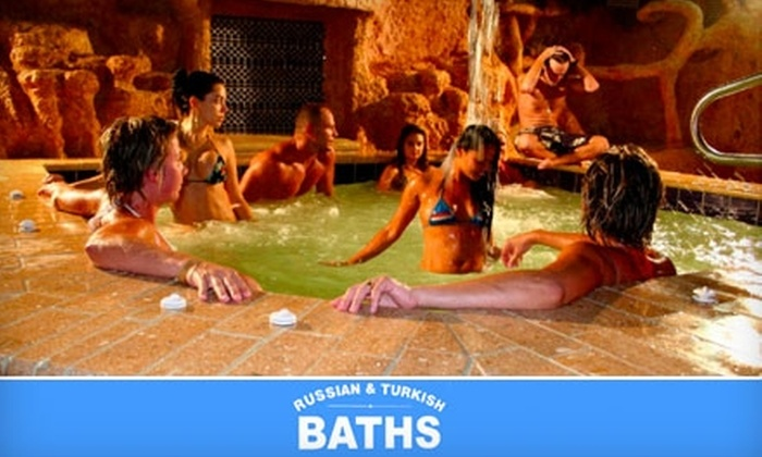 Russian & Turkish Baths - Oceanfront: $15 for Three Visits to Russian & Turkish Baths ($90 Value)