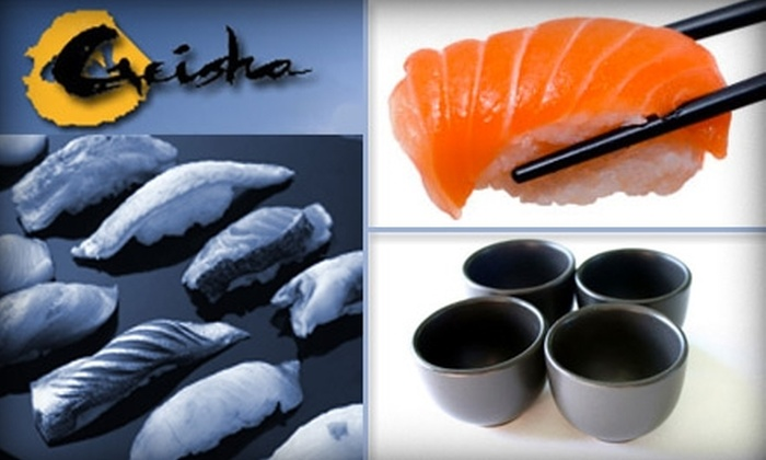 Geisha Steak and Sushi - Far North Dallas: $20 for $40 Worth of Sips and Savories at Geisha Steak and Sushi Restaurant