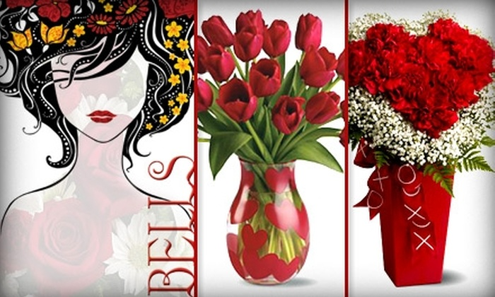 Bell's Floral - Briarcliff West: $30 for $60 Worth of Flower Arrangements From Bell's Floral