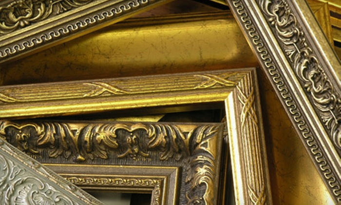 Gallery of Frames - SWAN: Custom Framing at Gallery of Frames (Up to 55% Off). Two Options Available.