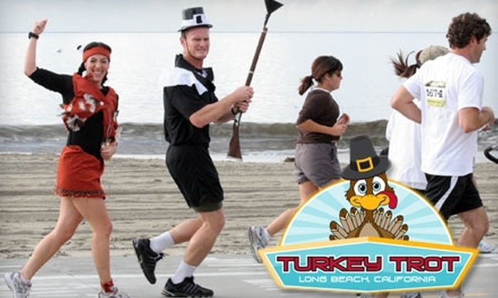 2010 Long Beach Turkey Trot - Belmont Heights: $20 for Registration to the 2010 Long Beach Turkey Trot 5K or 10K on November 25 (Up to $40 Value)