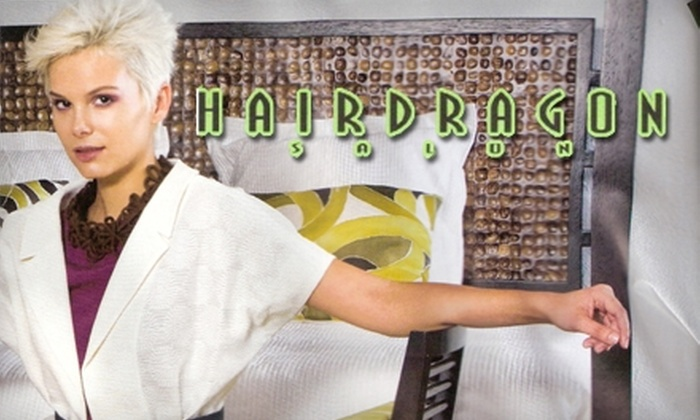 Hairdragon Salon - Little Haiti: $69 for a Haircut, Blow-Dry, and Scalp Massage at Hairdragon Salon