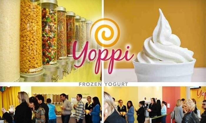 Yoppi Yogurt - Financial District: $10 for $20 Worth of Frozen Yogurt at Yoppi Yogurt