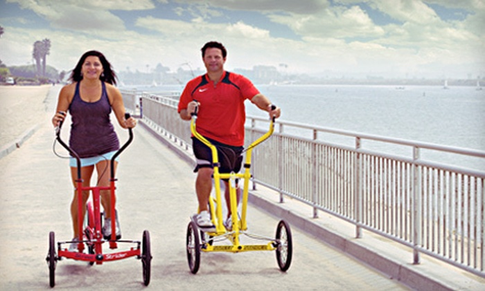 ElliptiFitOC - Multiple Locations: Outdoor Ride on Elliptical Bicycles for Two or Four from ElliptiFitOC (Up to 56% Off)