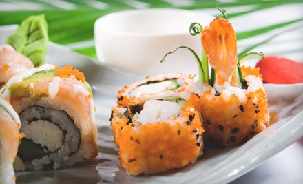Sushi Dinner for 2 (up to a $32 value) - Sasu Sushi in Sugar Land