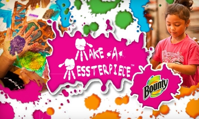 Make-A-Messterpiece - Glenview: $9 for One Admission and Two Activities at Make-A-Messterpiece in Glenview (Up to $20 Value)