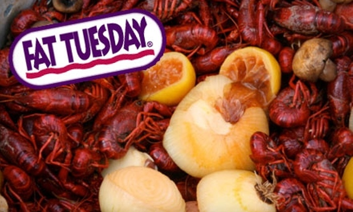 Fat Tuesday - Downtown Tempe: $10 for $20 Worth of Cajun Fare and Drinks at Fat Tuesday in Tempe