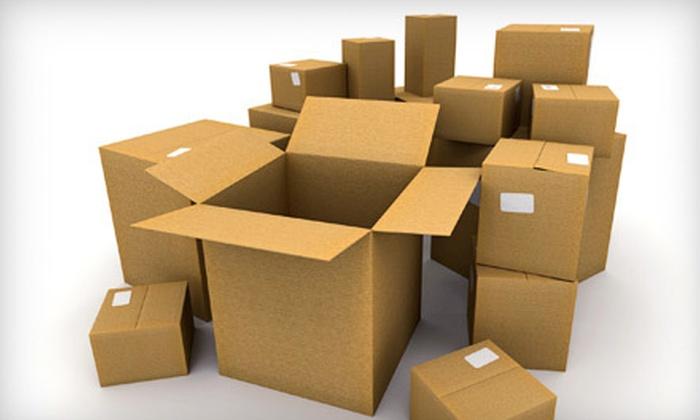 Detroit Mailbox - Windsor: 10  or 20 Parcel Pickups at Detroit Mailbox (Up to 59% Off)