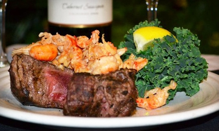 Cafe Americain - Mid City South: $20 for $40 Worth of Cajun Cuisine and Drinks at Cafe Americain