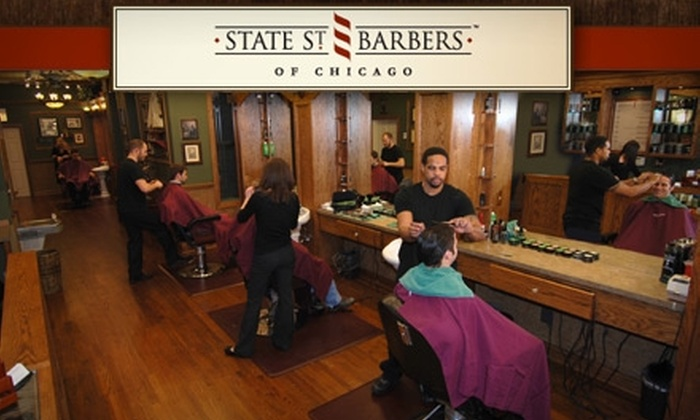 State Street Barbers - Multiple Locations: $13 for a Men's Haircut at State Street Barbers ($27 Value)