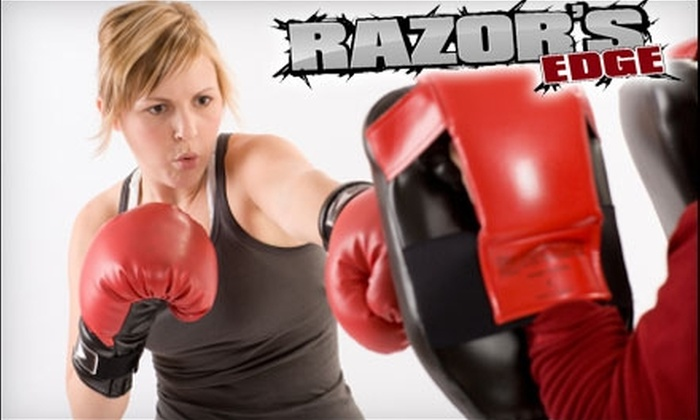 Razor's Edge Training Center and Boot Camp Academy - Dalton Gardens: $20 for 20 Kickboxing Classes at Razor's Edge Training Center and Boot Camp Academy (Up to $83.40 Value)